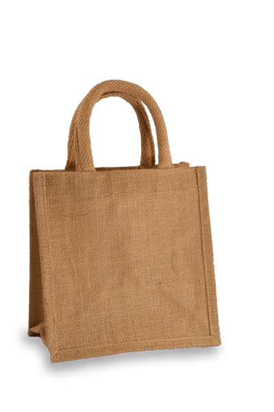 Jute Lunch Gift Bag in Natural