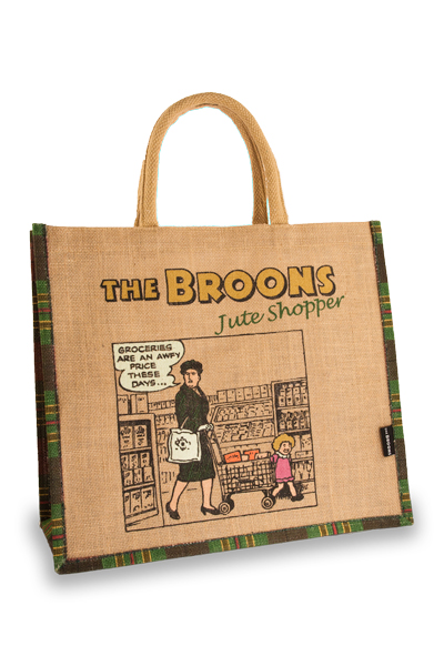 The Broons Trolley Jute Shopper
