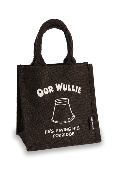 Oor Wullie Porridge Jute Gift/Lunch bag