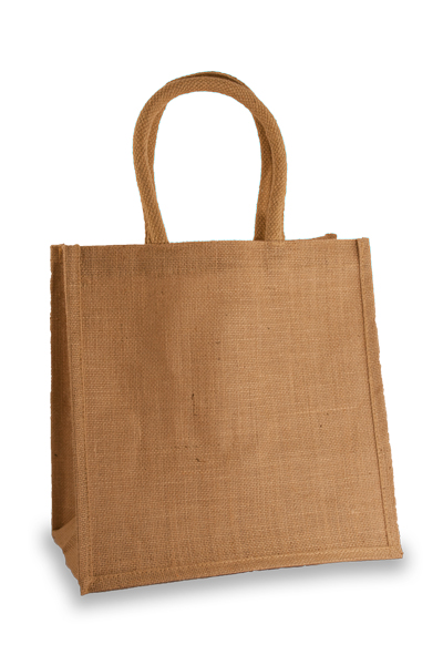 Medium Jute Shopper with long handles