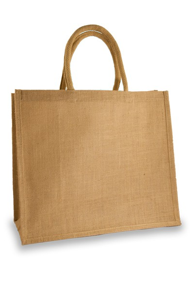 Large Natural Jute Shopper