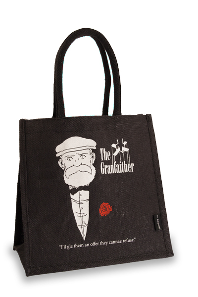 Granfaither Broon's Medium Jute Shopper