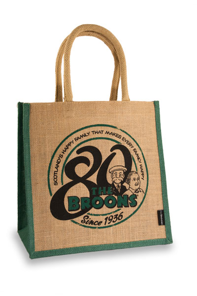 The Broons 80th Anniversary Jute Bag