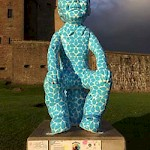 Oor Wullie at Broughty Ferry Castle